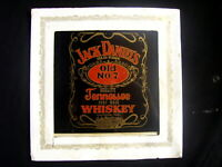 VINTAGE 1980's JACK DANIELS TENNESSEE WHISKEY GLASS CARNIVAL PICTURE RARE