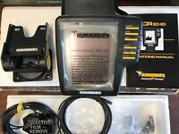 Humminbird TCR ID-10 Fishfinder with Power Cable, Transducer,  Base Plus More