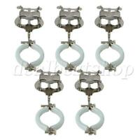 5 x Metal Plating Musical Sheet Clips Lyre Clarinet Clamp On Holders
