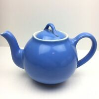 Hall Pottery Periwinkle Blue Teapot Good Condition No Chips or Cracks