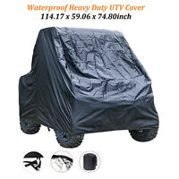 ATV UTV Utility Vehicle Storage Cover Protection Rain Snow SxS for Polaris RZR