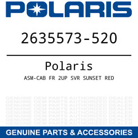 Polaris ASM-CAB FR 2UP SVR SUNSET RED