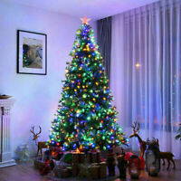 2/3/4/5ft Pre-Lit Artificial Fiber Optic Christmas Tree with LED Lights