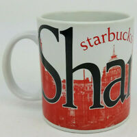 Starbucks Large Shanghai Skyline City 20 oz Mug Coffee Cup Collector Series 2004