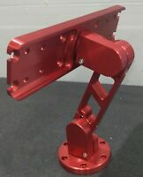 Large Billet Aluminum Fishfinder Mount Red Anodized Humminbird/Lowrance/Garmin