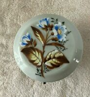 Antique QUESTIONABLE Mount Washington Milano Art Glass Covered Flowered Bowl