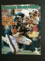 MARK BAVARO AUTOGRAPHED 16X20 SPORTS ILLUSTRATED PHOTO J.S.A. AUTHENTICATED