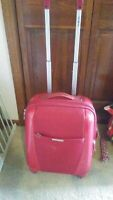 SAMSONITE SPINNER Expandable 25quot; Four Wheel Spinner Luggage Bright Red TSA Lock