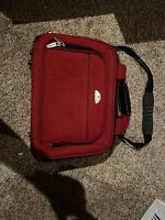 """Samsonite Red Soft 16""""Travel Tote Bag Carry On Hand Luggage"""