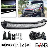 For Polaris Ranger 900/1000/570 Roof LED Light Bar Curved 54