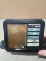 Eagle Magna II Fish Depth Locator  Head Unit Only Untested AS IS Free Ship