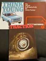 1973 INTERNATIONAL HARVESTER SCOUT TRUCK ORIGINAL BROCHURE/ Lot Of 3 Brochures