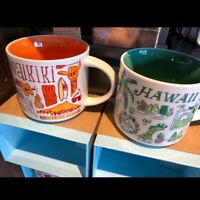 2 Set Starbucks Mug Set Hawaii and Waikiki