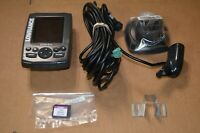 Lawrence Elite 3x Fish Finder with Sonar, Lake Insight Card & Mount