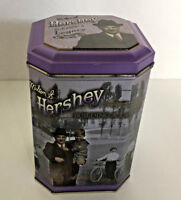1996 decorative tin container Hershey building a legacy canister series #3