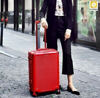 Travel Suitcase On Wheel Travel Bags Trolley Luggage Bag Spinner Aluminum Frame
