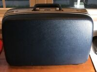 USA Samsonite Suitcase Briefcase Blue Hard Shell LUGGAGE 20 inch CarryPak 46