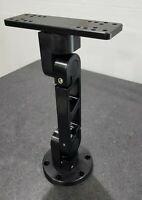 Billet Aluminum Fishfinder Mount Black Anodized Humminbird/Lowrance/Garmin