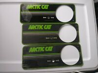 New Vintage Arctic Cat Console Guages Plate with Prot. Covering Still on!