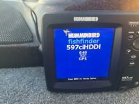 Humminbird 597 DI HD Fish finder with GPS.