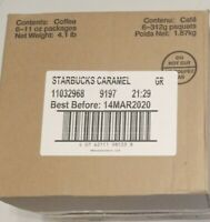 Case of 6 Starbucks Caramel Flavored Ground Coffee 11 OZ Bags Medium Roast 3 20