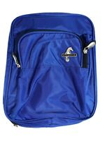 Atlantic Luggage Travel Toiletry Cosmetic Bag with Hanger Blue