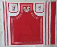 RARE Vintage 1990s Campbell's Soup Kids Fabric to make an 27 X 34 inch Apron