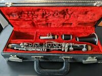 Normandy E flat clarinet - vintage, rare authentic wood soprano clarinet