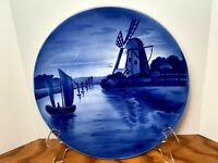 Antique Delft Charger Wall hanging