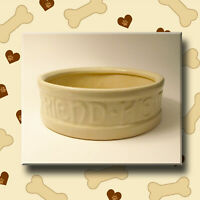 Dog Dish Bowl McCoy Pottery To Man's Best Friend His Dog