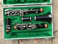 Used Boosey & Hawkes 1-10 Bb Clarinet & Case - 2489 - Repaired and Ready