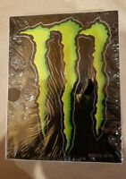 LOT OF 50 GENUINE MONSTER ENERGY DECALS STICKERS PACK APPROX 4x3 INCHES