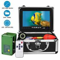 Underwater Fishing Camera Portable Ice Fish Finder with 30 Adjustable LEDs an...