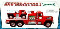 2015 HESS Toy Fire Truck And Ladder Rescue -Brand New -MINT IN BOX~NEVER REMOVED