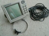 Eagle Fishmark FISH MARK 480 Locator with Bracket Cable & Transducer Fish Finder