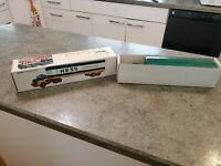 1977 Advertising HESS Gasoline Toy Truck Fuel Oils Hong Kong Oil Drums MINT