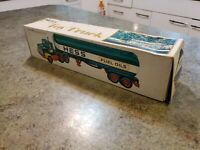 1977 Advertising HESS Gasoline Fuel Oils Toy Truck MINT NRFB