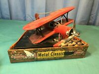 2002 METAL CLASSIC COLLECTION AIRPLANE - BRAND NEW IN THE BOX