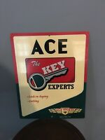"""Original Vintage Metal Ace Hardware Store Sign 11"""" X 14"""". First In A Series!!"""