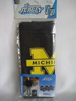Luggage Jersey by Denco Michigan Wolverines Black Small Suitcase Cover New