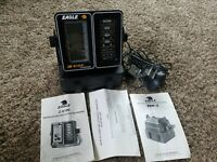 Eagle Z-6100 LCG Recorder Fish Finder Monitor w/ Battery Case, Transducer Manual