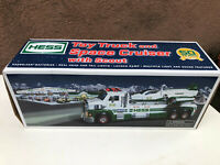 2014 Hess 50th Anniversary Toy Truck And Space Cruiser With Scout -FREE SHIPPING