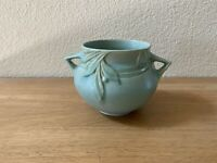 Roseville Pottery Green Velmoss Bowl