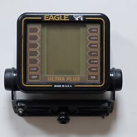 Eagle Ultra Plus Fish Depth Finder Head Unit Only Untested Made In USA