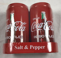 3 Pk. Coca Cola Salt and Pepper Shakers with Caddy