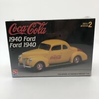 AMT ERTL Coca Cola 1940 Ford 1 25 Scale Model Kit #H823 10DO