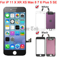 LCD Touch Screen Replacement for iPhone 11 X XR XS Max 6 7 8 Plus 5 5S 5C SE Lot $69.95