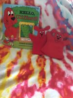 K 2 Hello Clifford Classroom Book With Puppets Teacher Resource $7.99