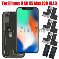 For iPhone X XR XS Max LCD OLED Touch Screen Digitizer Replacement Battery Lot $98.99