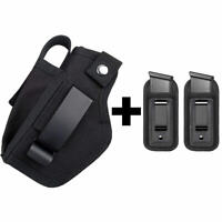 OWB Gun Holster With Pistol Magazine Pouch For Concealed Carry Universal